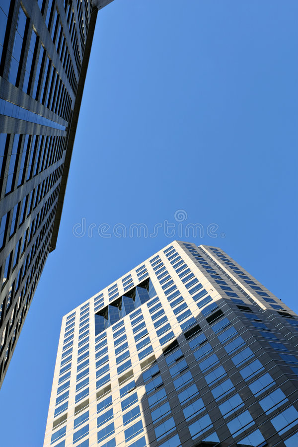 modern commercial complex royalty free stock photo