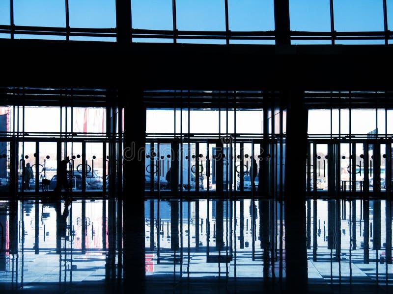 Modern Commercieel centrum royalty-vrije stock foto's