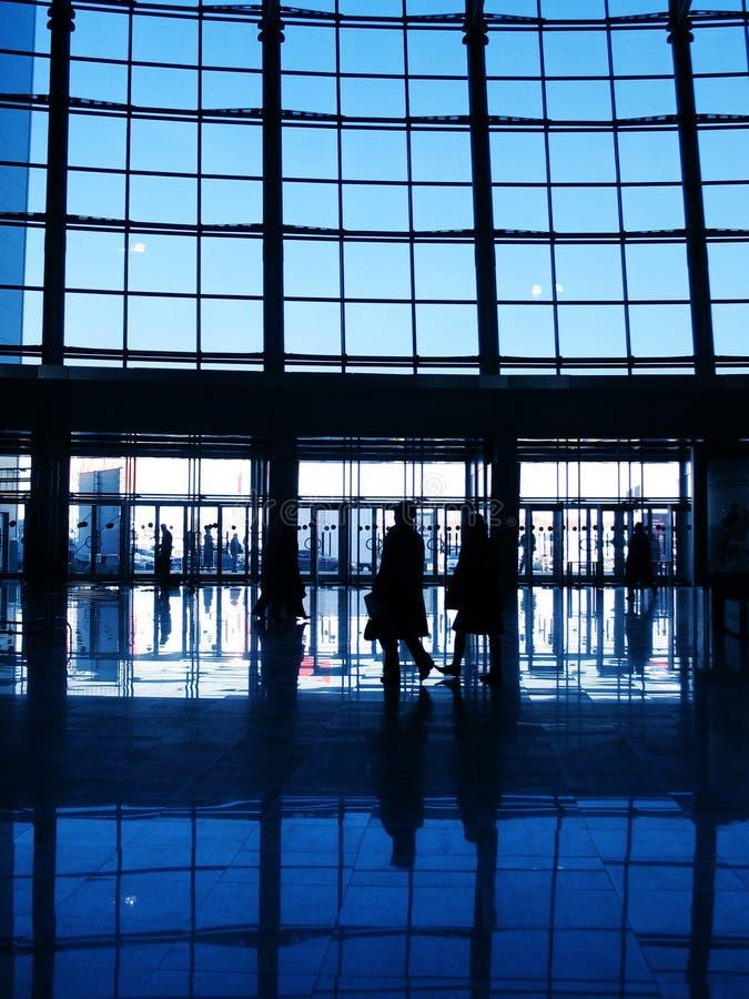 Modern Commercieel centrum stock foto