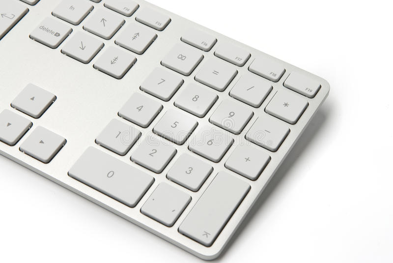 Modern computer keyboard royalty free stock photography
