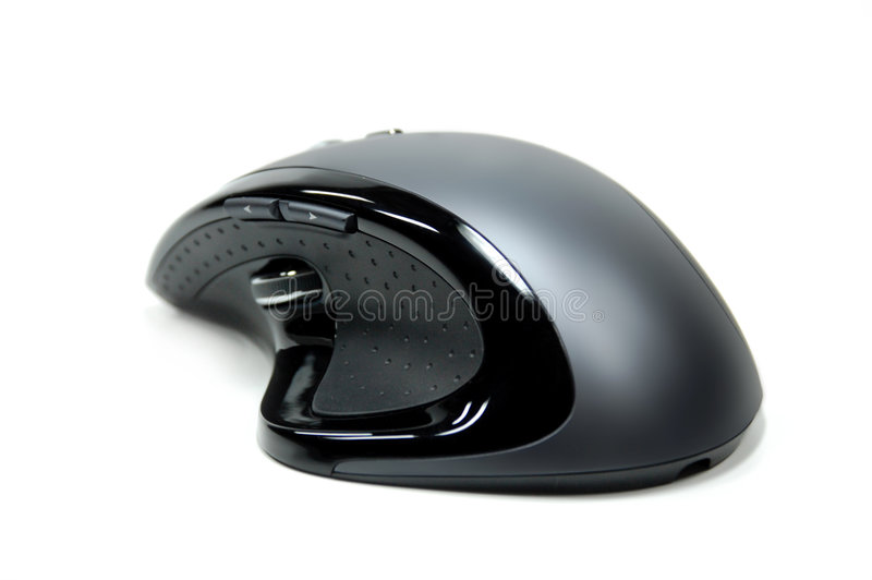Modern Computer Mouse #1 Royalty Free Stock Photo
