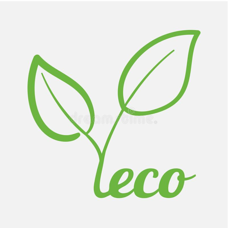 Free Modern Concept Of Maintaining Ecology Of Planet Environmental Friendliness Of Food And Care For Environment. Eco Theme Stock Photography - 124867792
