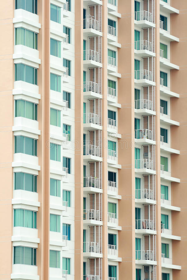 Download Modern Condo Building Detail Stock Photo - Image: 24092280