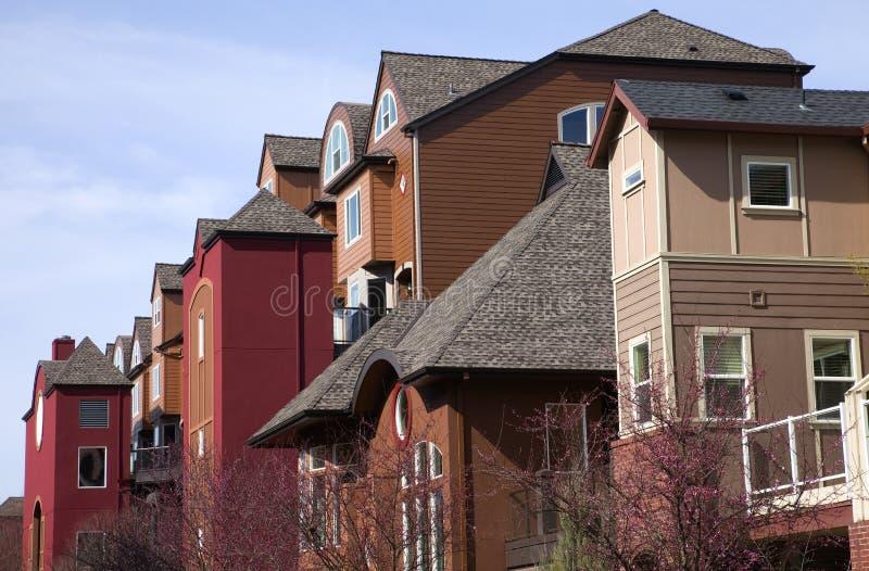 Download Modern Condominiums, Portland OR. Stock Image - Image: 23830427