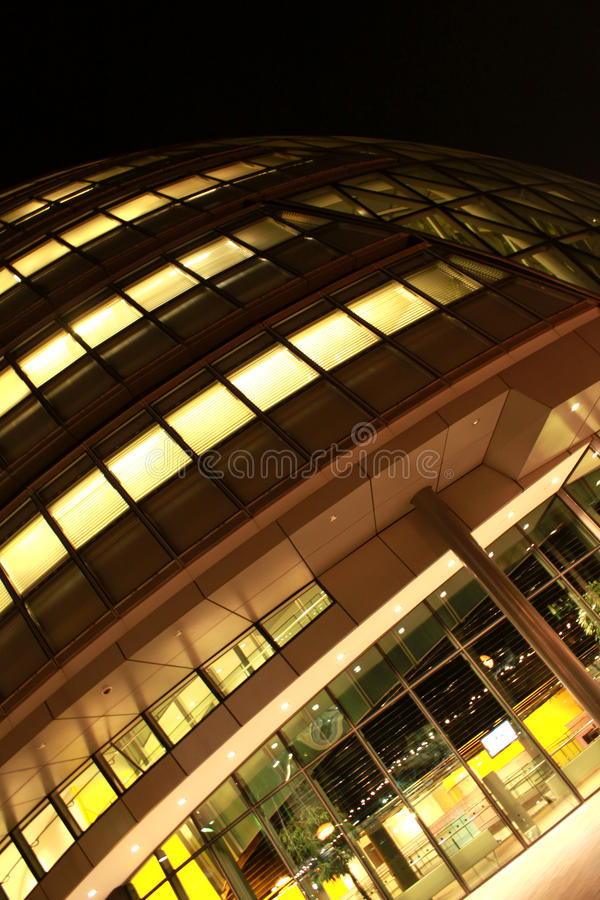 Modern construction royalty free stock photography