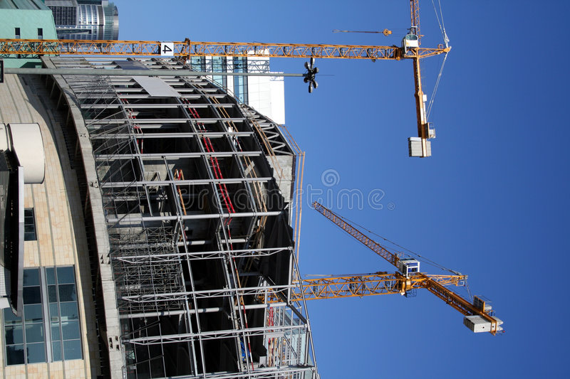 Download Modern construction stock photo. Image of apartment, business - 539724