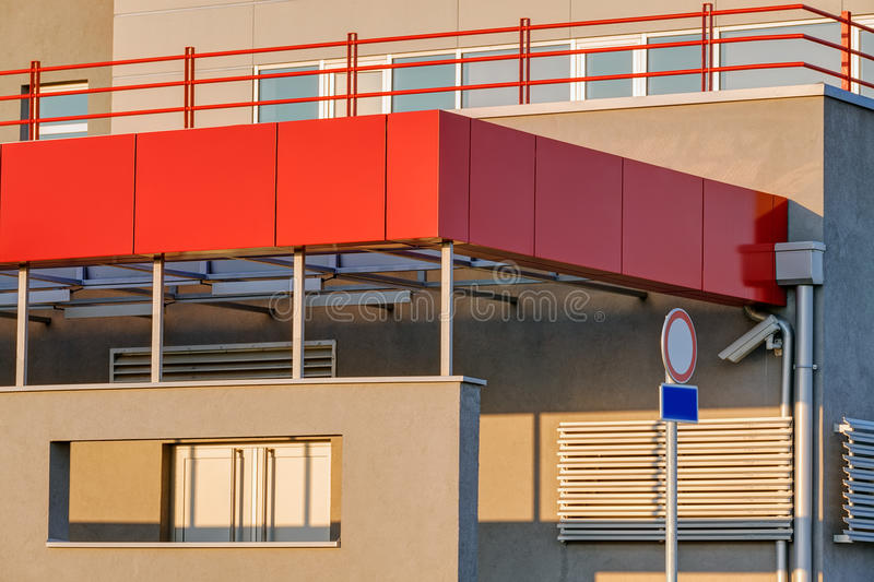 Modern and contemporary building royalty free stock images