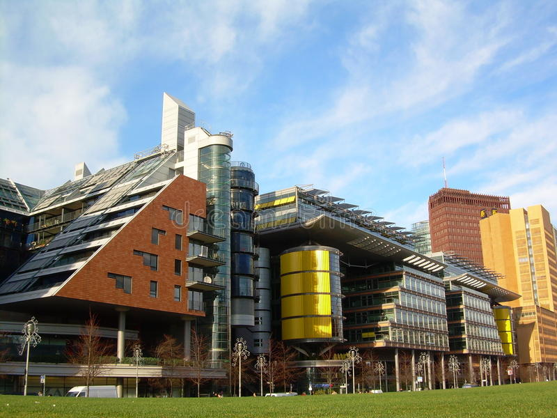 Download Modern Contemporary Buildings Stock Photo   Image Of Iconic,  Public: 39508734