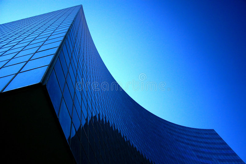 Modern corporate head-office architecture. stock images