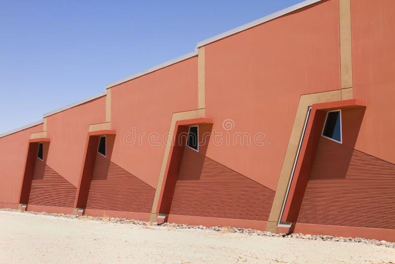 Modern Corporate Office Warehouse Windows royalty free stock photos