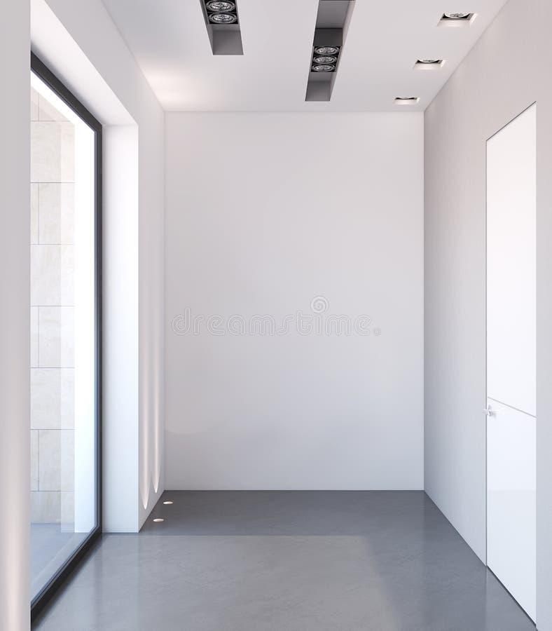 Download Modern corridor stock illustration. Illustration of apartment - 26059092