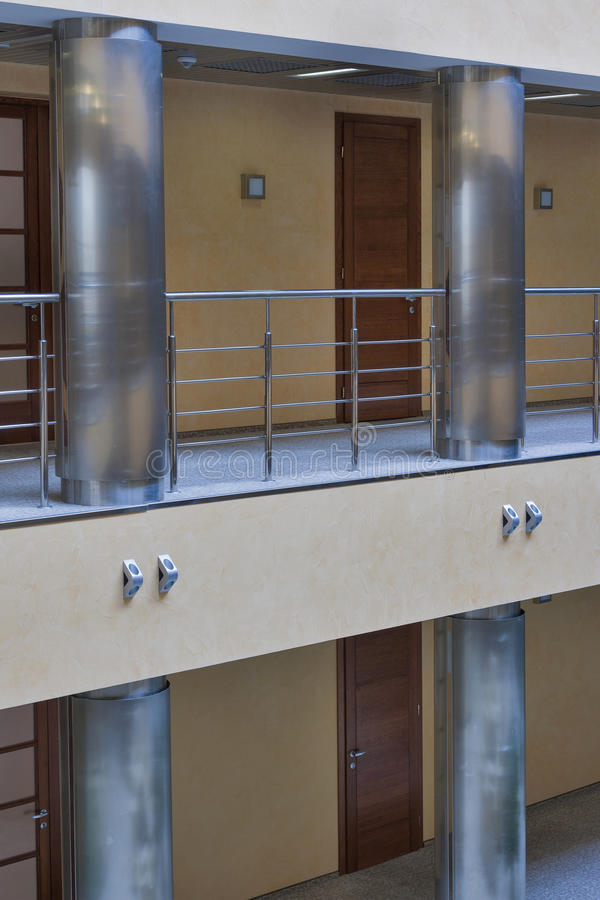 Modern corridor interior royalty free stock photo