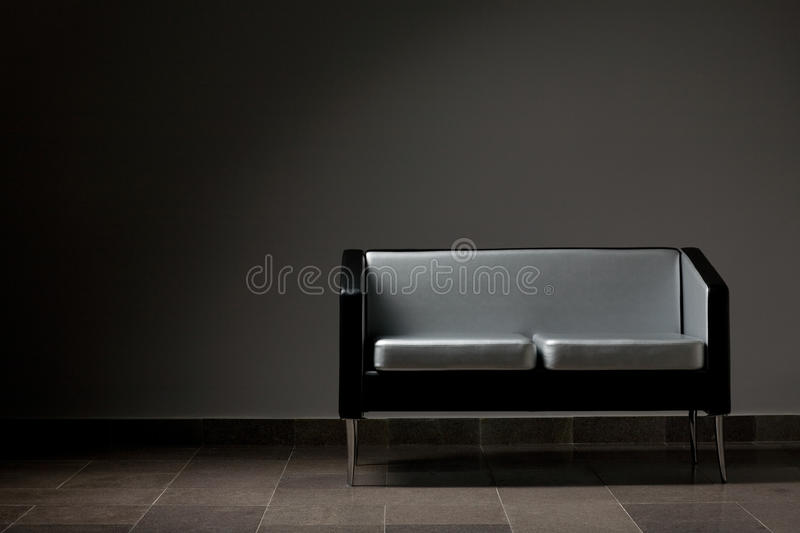 Modern couch royalty free stock images
