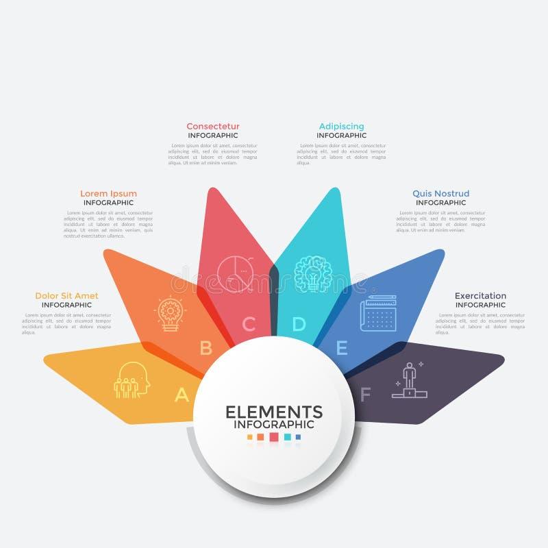 Modern Creative Infographic Template vector illustration
