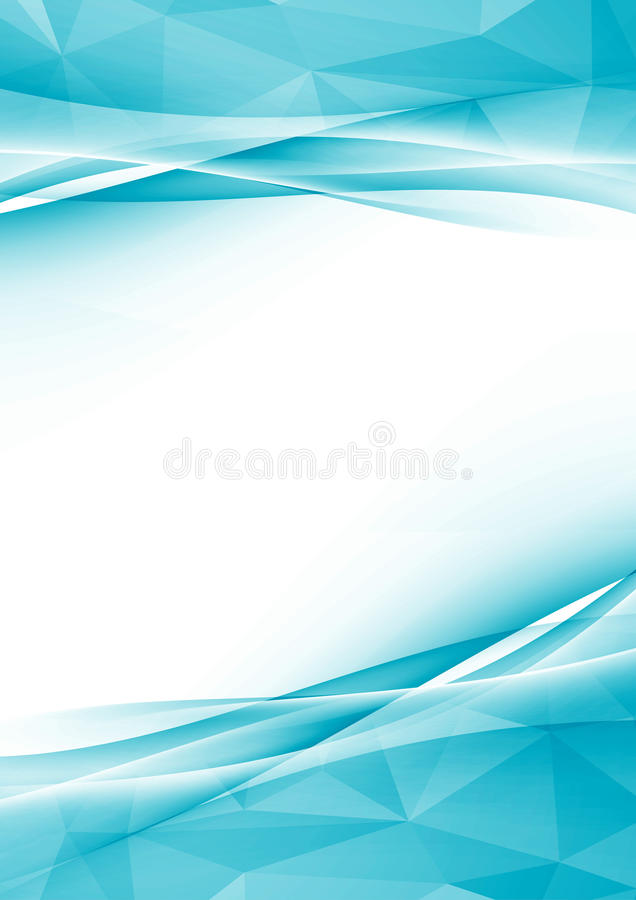 Modern crystal abstract border folder design. Textured layout with blank space for text in the middle. Vector illustration royalty free illustration