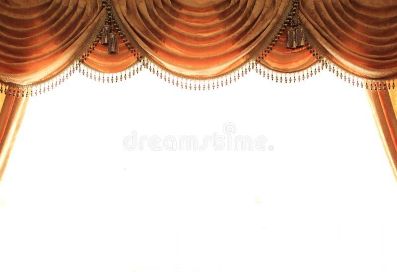 Modern Curtain stock photo