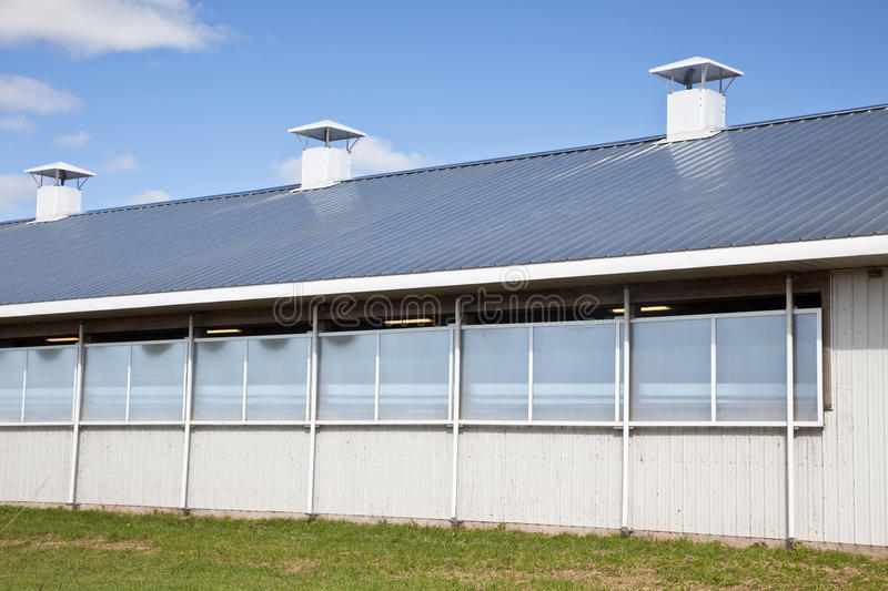 Modern Dairy Barn Stock Images