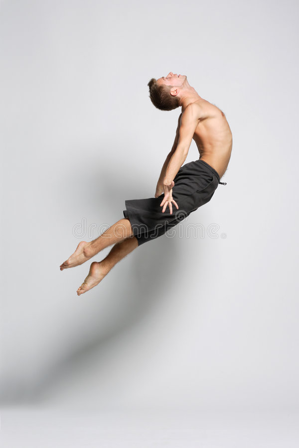 Modern dance stock photos