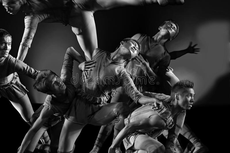 Download Modern Dance : Group Of Sculptures Editorial Stock Photo - Image: 15918733