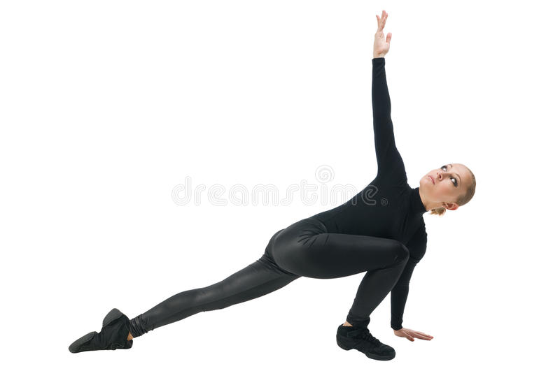 Modern dancer royalty free stock photography