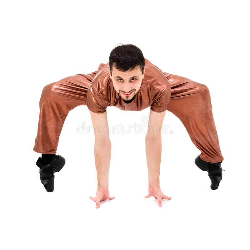 Download Modern Dancer Showing Some Movements Stock Photo - Image: 28875302