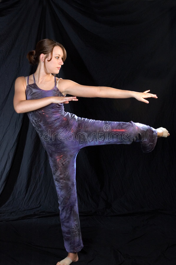 Download Modern Dancer In Standing Pose Stock Photo - Image: 967920