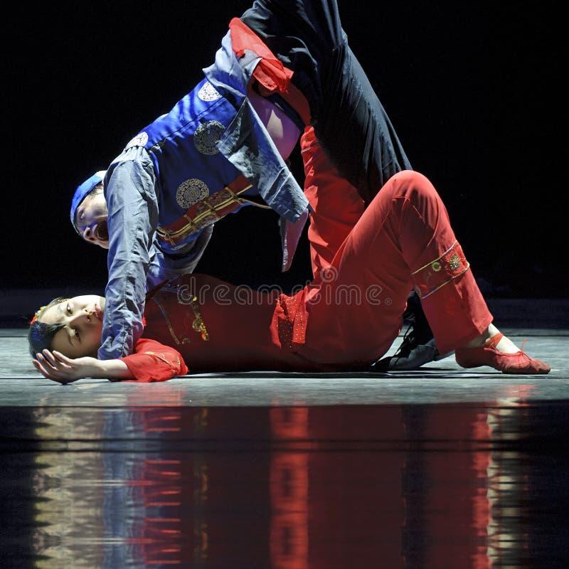 Modern Dancers Editorial Stock Photo