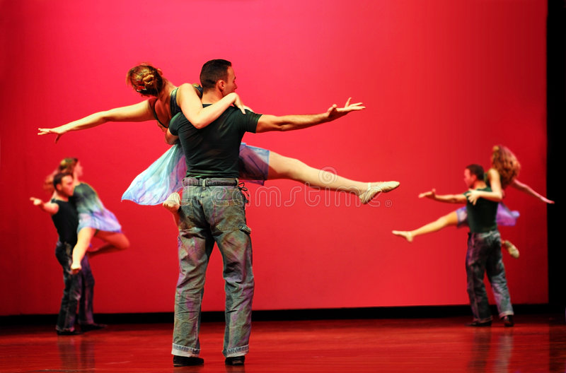 Download Modern dancers stock photo. Image of entertainment, adult - 291494