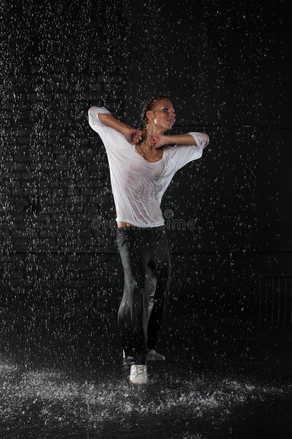 Modern dances. stock photos