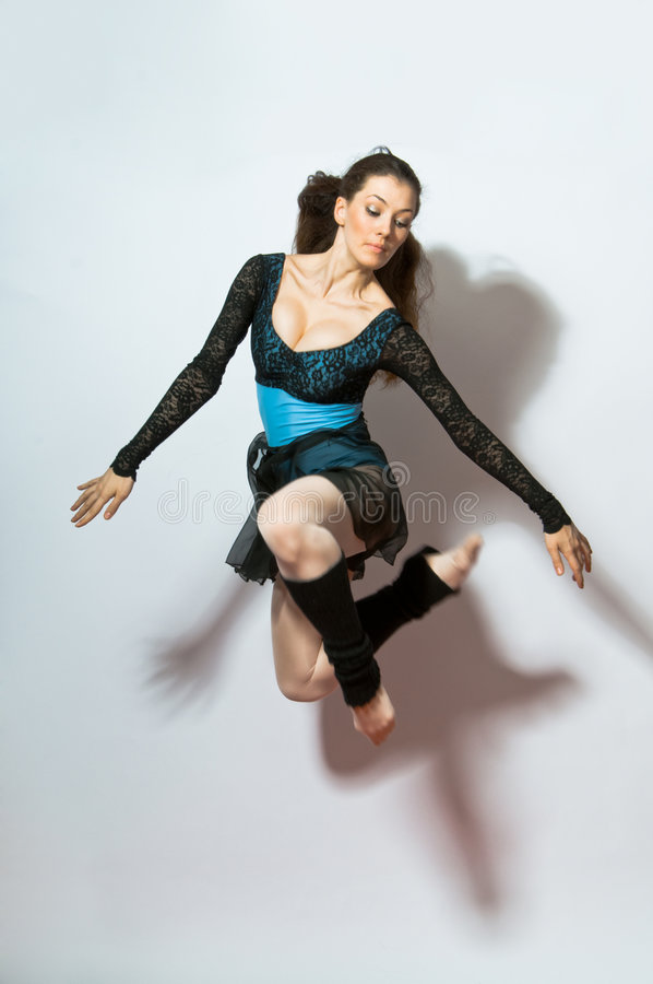 Modern dances royalty free stock photography