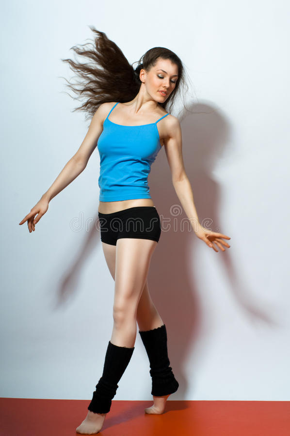 Modern dances stock images