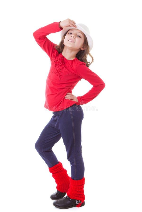 Modern dansjong geitje stock afbeelding
