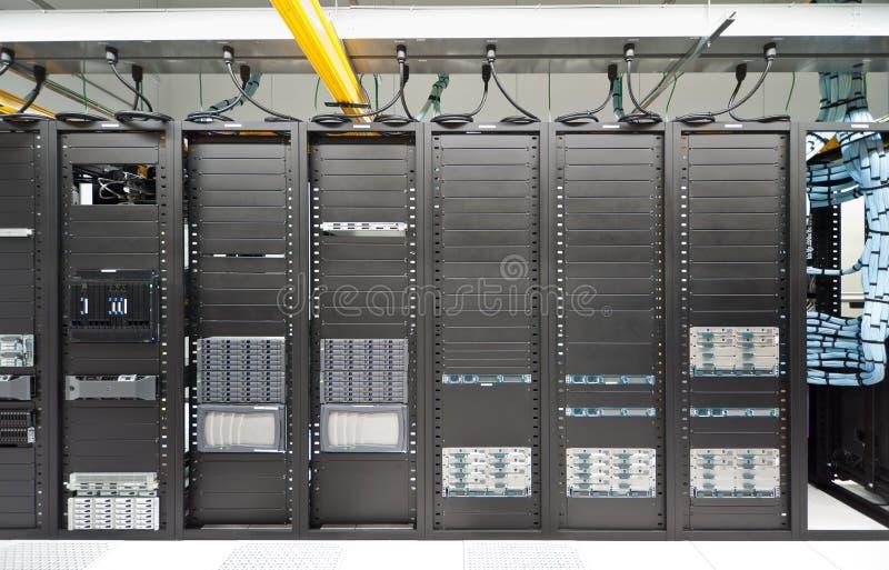 modern datacenter royaltyfri fotografi