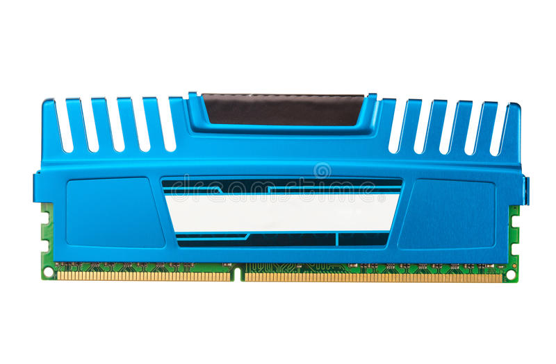 Download Modern ddr ram memory stock image. Image of iron, high - 23455237