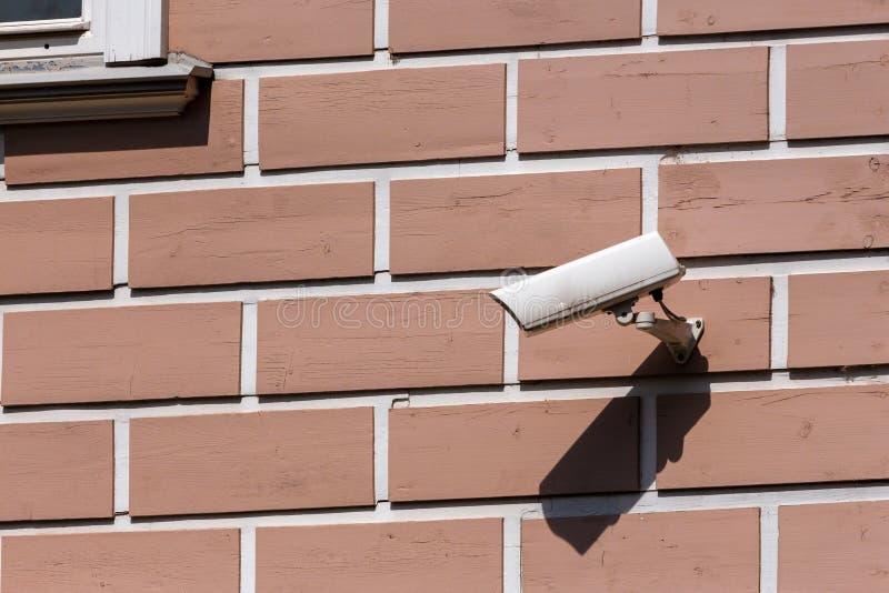 Modern de veiligheid en de veiligheidsmateriaal van de toezichtcamera royalty-vrije stock afbeeldingen