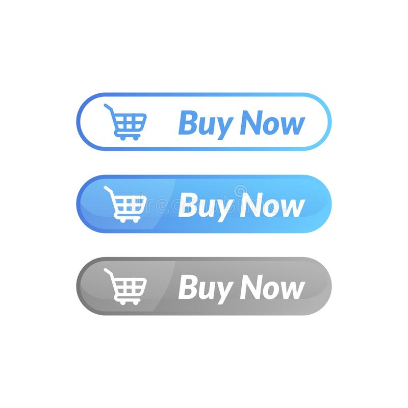 Modern design of buy now button. online shop icon material. Design, action, add, apps, banner, basket, business, cart, checkout, click, computer, concept stock illustration