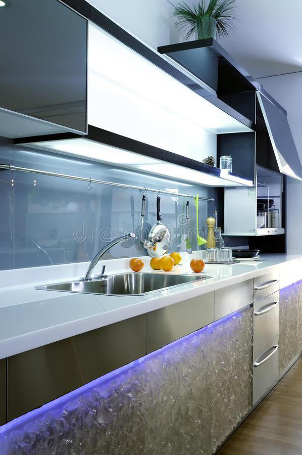 Modern Design Kitchen 03 stock photography