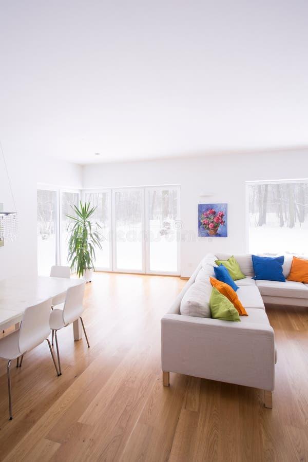 Modern design of lounge stock images