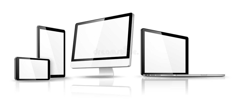 Modern device . Vector stock illustration
