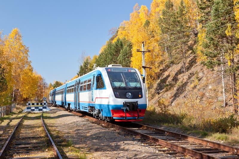 Modern Diesel Locomotive Royalty Free Stock Image