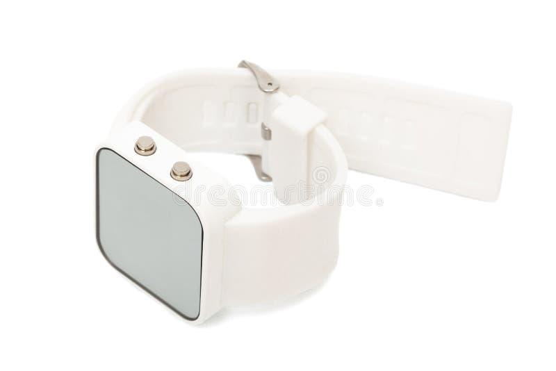 Modern digitaal horloge stock foto's