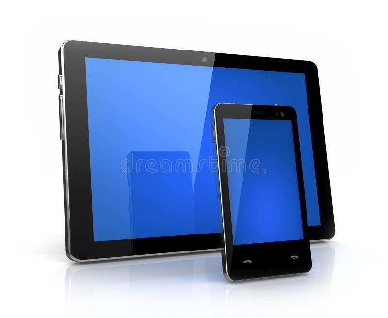 Modern digital pad and phone