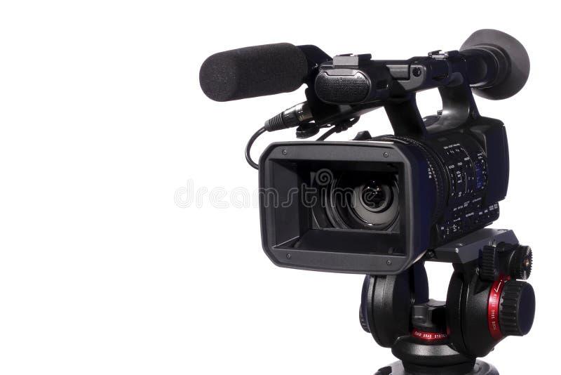 Modern digital video camera stock photography