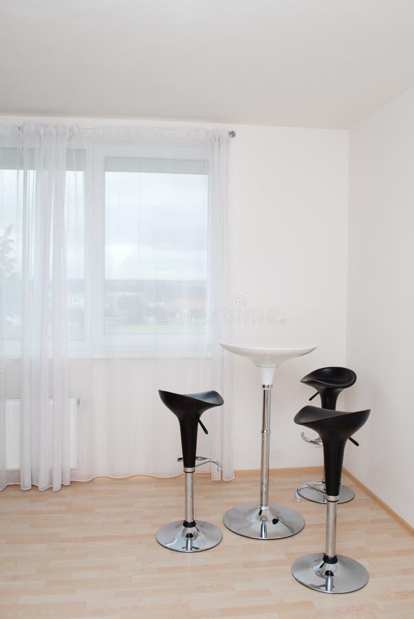 Download Modern dinning corner stock image. Image of room, black - 21816537