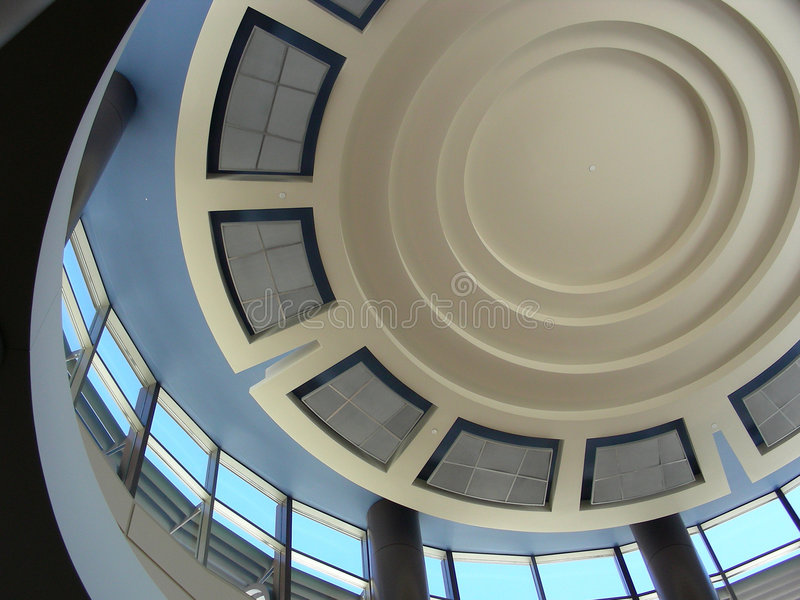 Modern Dome Stock Photography