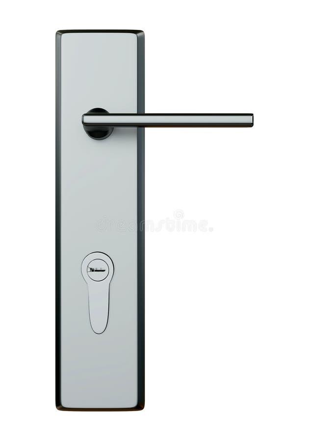 Modern Door Lock. vector illustration