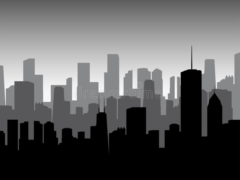 Download Modern Downtown Royalty Free Stock Photography - Image: 21332337