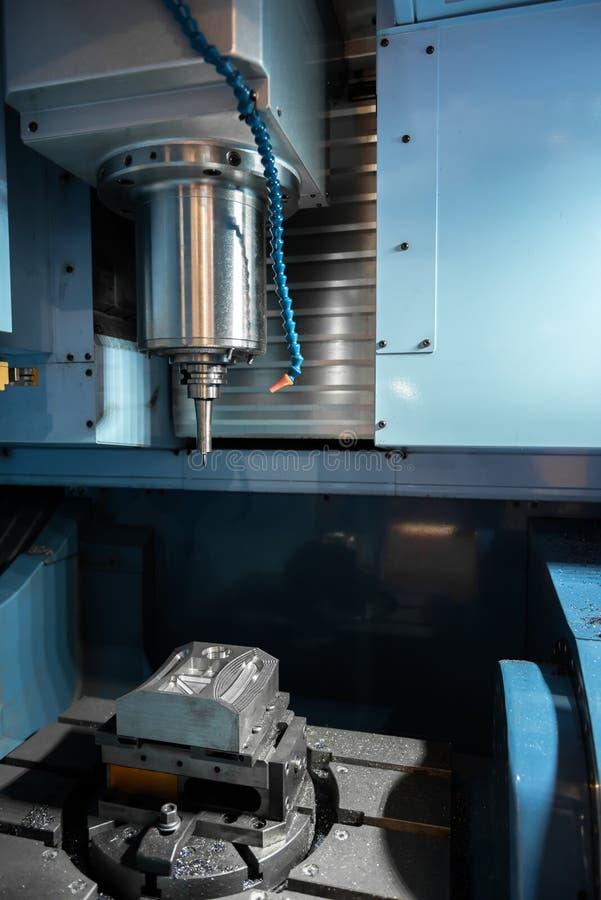 Modern drill machine stock photo