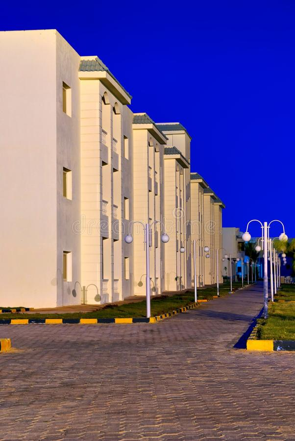 Download Modern Egypt Hotel Architecture Stock Photo - Image: 11992224