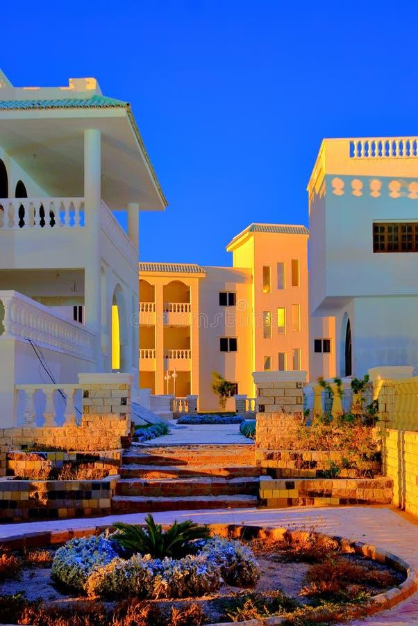 Free Modern Egypt Hotel Architecture Royalty Free Stock Photos - 11992308